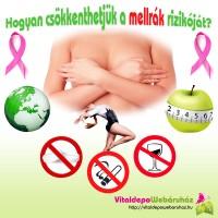 Hogyan csökkenthetjük a mellrák rizikóját