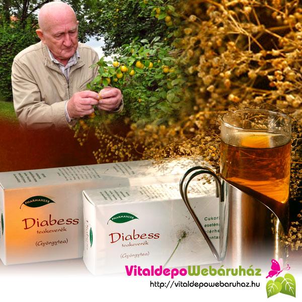Diabess Tea | A Diabess-Györgytea
