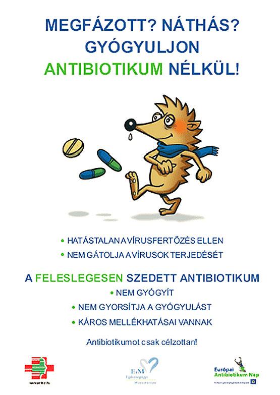 Megfázott? Náthás? Gyógyuljon antibiotikum nélkül!