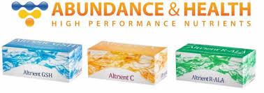 Az Altrient® liposzómás termékcsalád.