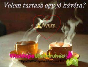 Ayura kávé sziv