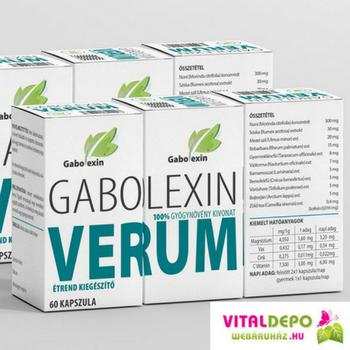 Gabolexin, avagy a kapszulába zárt gyógynövények