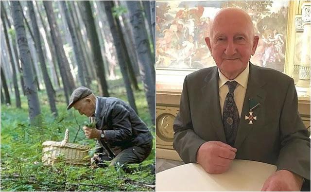 Magyar Érdemrend Lovagkeresztjét kapta Szabó Gyuri bácsi, a bükki füvesember!