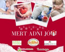 """""""MERT ADNI JÓ…"""" karácsonyi jótékonysági akció"""